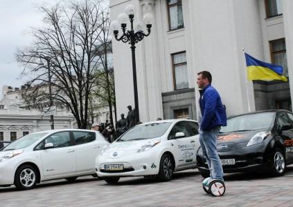 Электромобили в Украине: итоги 2017, планы 2018