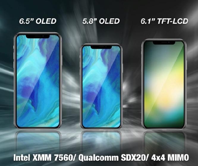 Слухи: LG станет поставщиком 6,5-дюймовых OLED-экранов для будущего смартфона iPhone X Plus, поставки матриц начнутся уже во втором квартале 2018 года