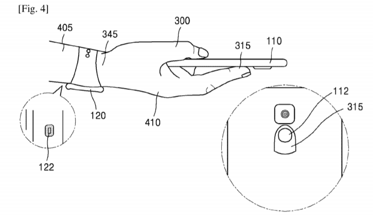 Samsung получил патент на систему аутентификации с помощью сканера кровеносных сосудов, встроенного в смартфон или умные часы