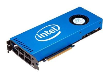 Intel продемонстрировала прототип собственного дискретного графического процессора