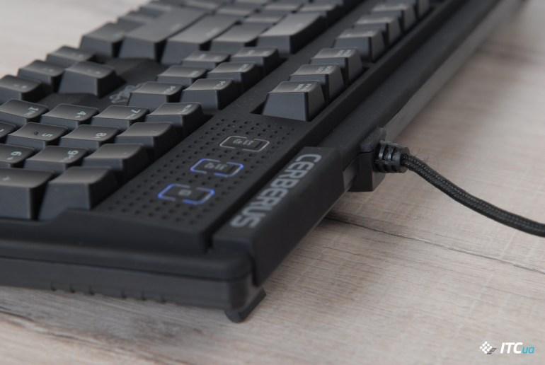 Обзор игровой механической клавиатуры ASUS Cerberus Mech RGB