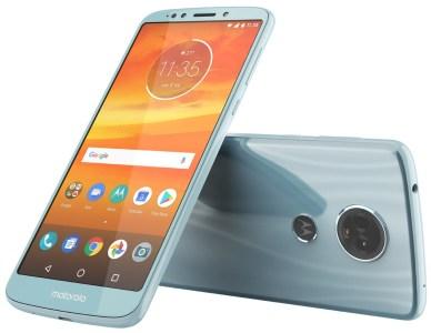 Официальное изображение Motorola Moto E5 Plus демонстрирует дизайн бюджетника нового поколения с экраном 18:9 и «бутафорской» сдвоенной камерой