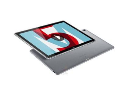 В сеть попали официальные рендеры и характеристики планшета Huawei MediaPad M5, который представят на MWC 2018