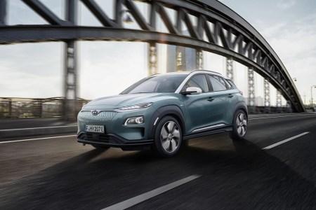 Hyundai представила электрический кроссовер Kona Electric в двух версиях с запасом хода 470 км (64 кВтч) и 300 км (39 кВтч)
