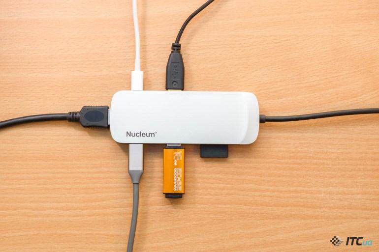 Экспресс-обзор USB-C-дока Kingston Nucleum