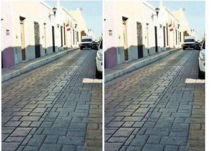 Зрительно-мозговая иллюзия: две одинаковые фотографии переулка, которые кажутся разными