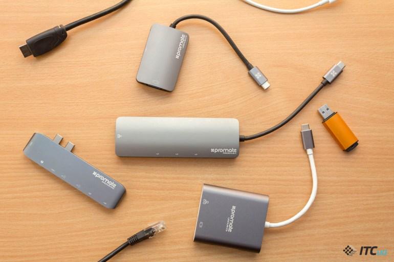 Экспресс-обзор USB-C-дока Promate PrimeHub-C