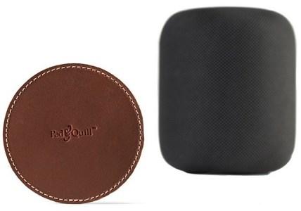 Pad&Quill предложила переживающим за мебель владельцам колонки Apple HomePod подставку (кусочек кожи) – всего за $20