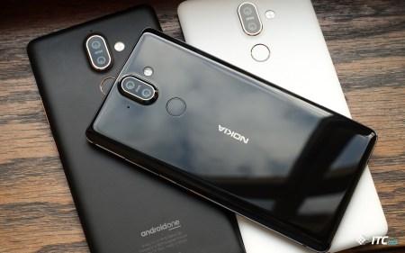 Первый взгляд на Nokia 7 Plus, Nokia 8 Sirocco и New Nokia 6