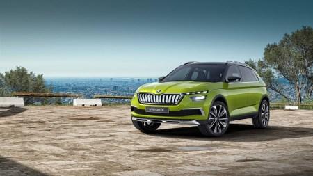 Skoda представила в Женеве гибридный кроссовер Vision X, способный работать на газе, бензине и электричестве, а также подтвердила, что первым электромобилем бренда станет Skoda e-Citigo
