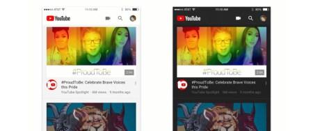 В приложениях YouTube для iOS и Android внедряется тёмная тема оформления