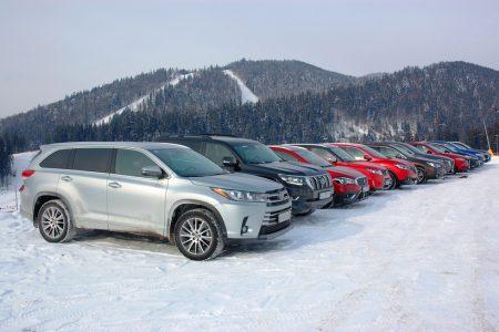SUVорый тест: 12 кроссоверов и внедорожников – одним взглядом - ITC.ua