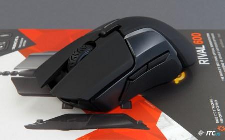 Обзор игровой мыши SteelSeries Rival 600: 256 возможностей по настройке