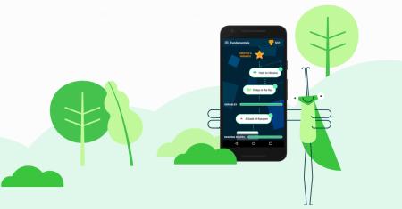 Grasshopper – бесплатное ПО от разработчиков Google, обучающее основам программирования на JavaScript через мини-игры