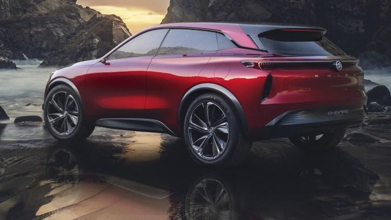 General Motors представила концепт электрокроссовера Buick Enspire с мощностью 550 л.с. и запасом хода 600 км