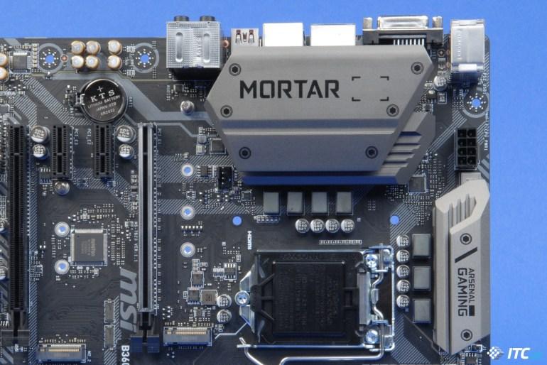 Обзор материнской платы MSI B360M MORTAR