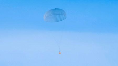 ESA протестировала гигантский парашют, который будет использоваться для марсианской миссии ExoMars