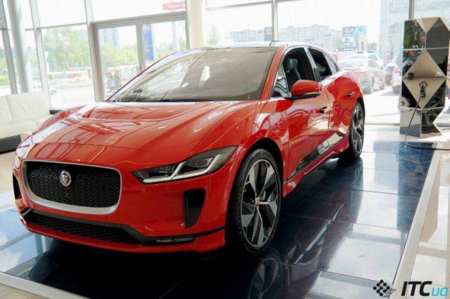Электрокар Jaguar I-PACE уже в Украине: 67 тыс. евро и прием заказов - ITC.ua