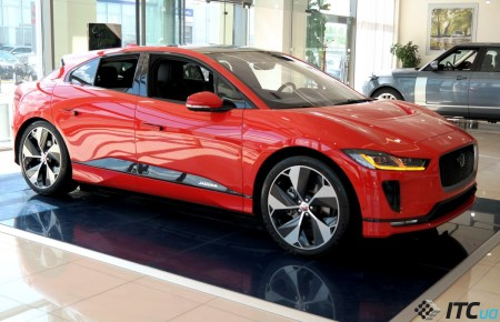 Электрокар Jaguar I-PACE уже в Украине: 67 тыс. евро и прием заказов