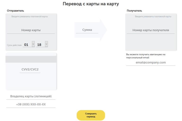"""""""Киевстар"""" запустил услугу перевода средств с карты на карту на официальном сайте и в приложении """"Мобильные деньги"""""""