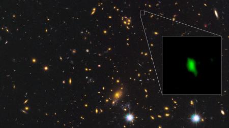 Астрономы нашли доказательства формирования звезд более 13,5 миллиардов лет назад. Спустя всего 250 млн лет после Большого взрыва