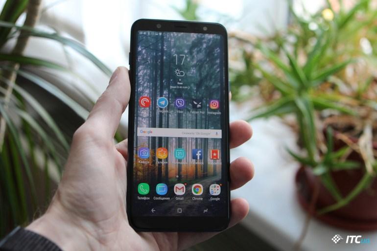 Обзор Samsung Galaxy A6+ (2018)