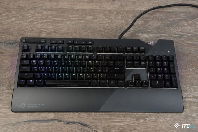 Обзор игровой механической клавиатуры ASUS ROG Strix Flare - ITC.ua