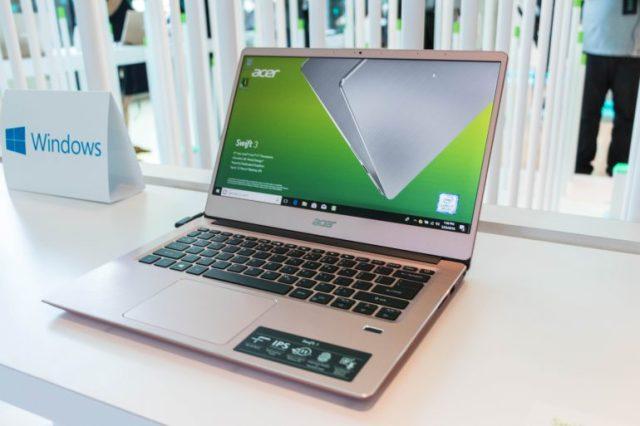Next@Acer 2018: обновленные ультрабуки Swift 3 и Swift 5, новая линейка устройств на Chrome OS - ITC.ua