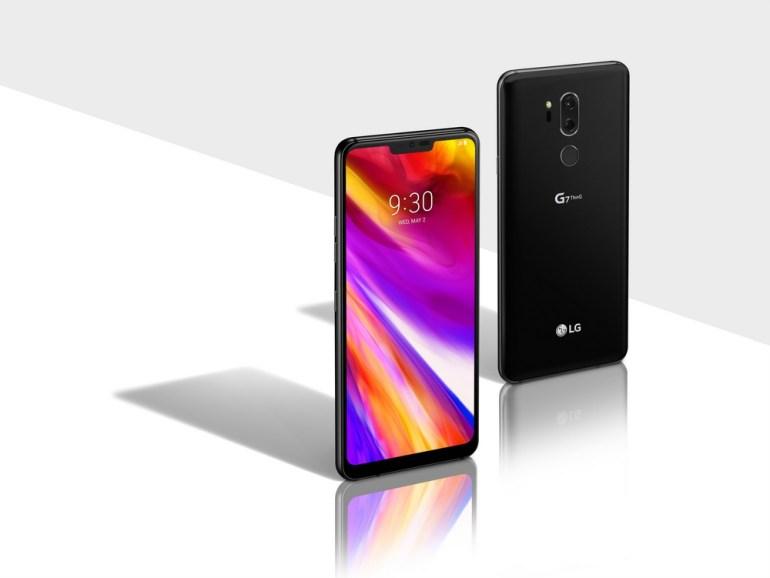 Смартфон LG G7 ThinQ представлен официально: 6,1-дюймовый экран с яркостью 1000 кд/кв.м, кнопка для вызова Google Assistant и аудиоподсистема с поддержкой виртуального объемного звука 7.1