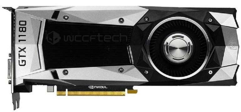 Полные характеристики игровой видеокарты NVIDIA GeForce GTX 1180 (Volta)
