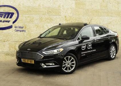 Intel и Mobileye начали тестирование самоуправляемых автомобилей в сложных дорожных условиях Иерусалима