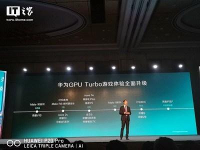 Huawei объявила список смартфонов, которые вскоре получат поддержку технологии разгона графики GPU Turbo
