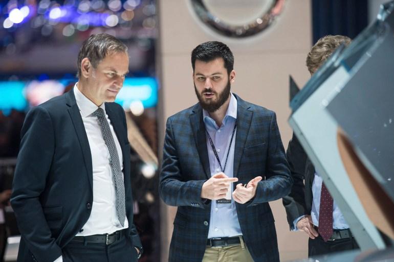 Porsche приобрела 10% акций хорватского производителя электромобилей Rimac