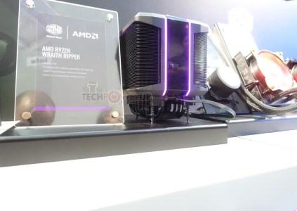 AMD и Cooler Master создали огромный кулер Wraith Ripper для охлаждения 32-ядерного процессора Threadripper 2 с TDP 250 Вт