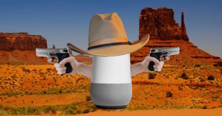 Google Assistant научили стрелять из пистолета ?