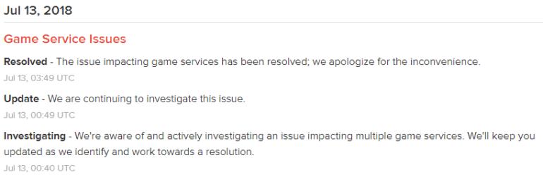 Серверы Fortnite упали из-за наплыва игроков после старта пятого сезона