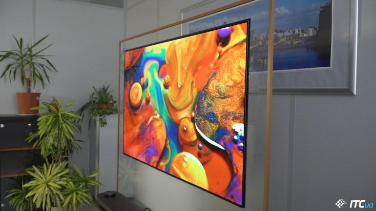 углы обзора LG OLED65W8PLA