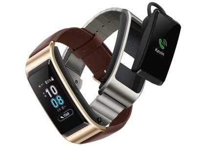 Носимое устройство Huawei TalkBand B5 снова будет гибридом умных часов и Bluetooth-гарнитуры