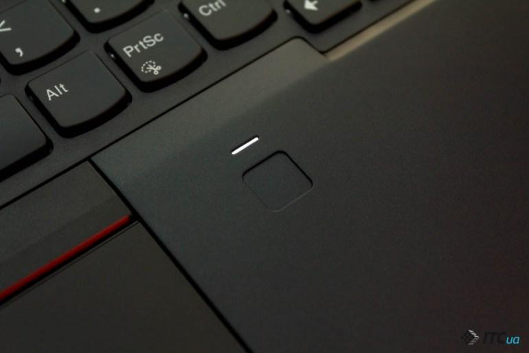 сканер отпечатков ThinkPad T480s