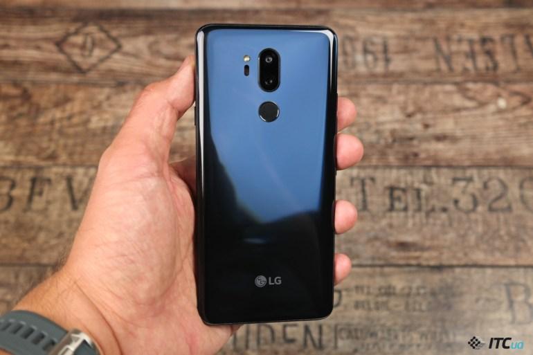 Спинка LG G7