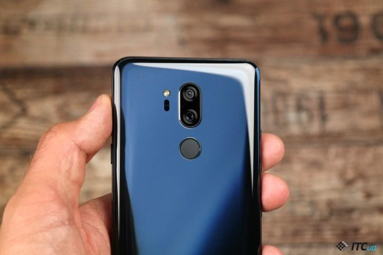 Сканер отпечатков пальцев LG G7