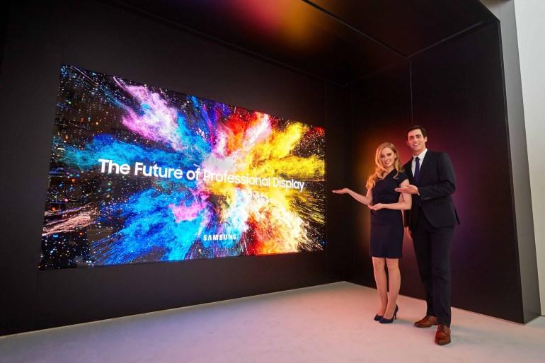 """В следующем году Samsung выпустит более тонкую версию своего MicroLED-дисплея The Wall, которая будет """"дешевле, чем ожидается"""""""
