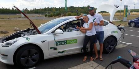 Электромобиль Tesla Model 3 самостоятельно проехал 1000 км от одного заряда без водителя за рулем в режиме «сверхкилометража» [видео]