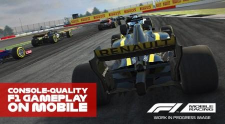 Опубликован трейлер мобильной игры F1 Mobile Racing