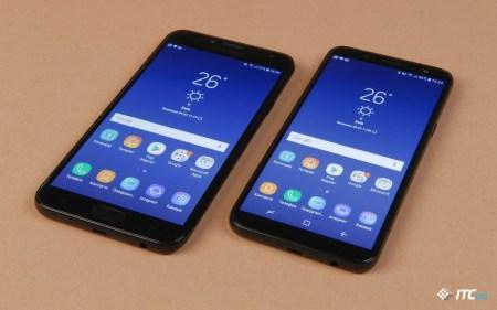 Обзор смартфонов Samsung Galaxy J4 (2018) и Galaxy J6 (2018)