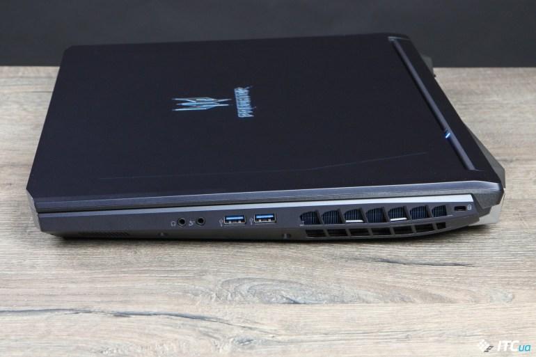 Обзор игрового ноутбука Acer Predator Helios 500