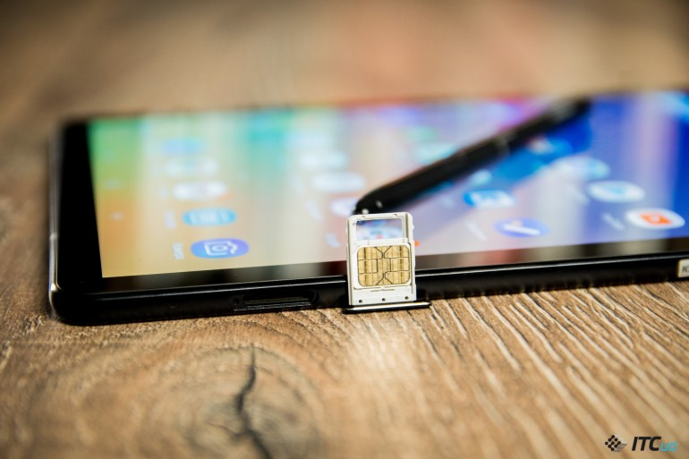SIM-карта Galaxy Tab S4