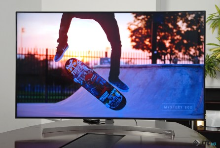 Обзор 4К-телевизора LG 55SK8500