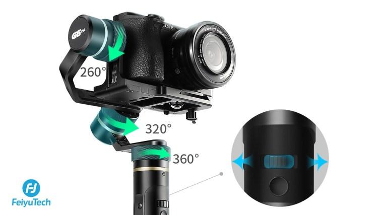 All in one: FeiyuTech презентует новый универсальный стедикам G6 Plus