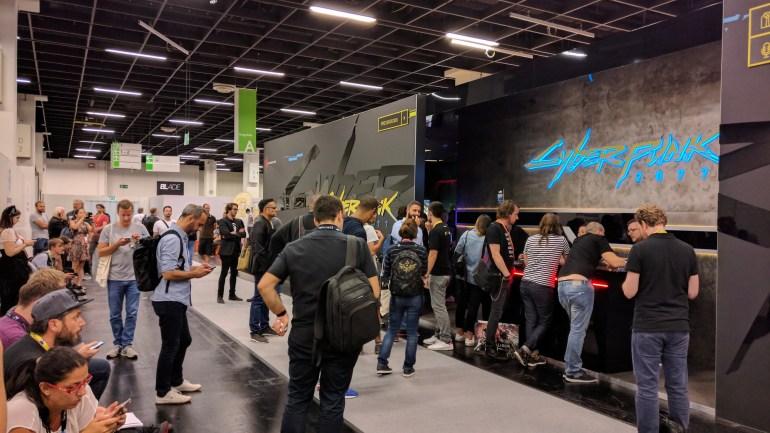 Cyberpunk 2077 - лучшая игра Gamescom 2018, которую [не] показали на выставке